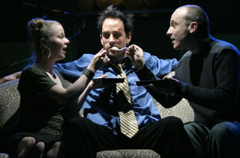 Robert Moloney With Anna Cummer And Tom Scholte In Shopping And Fucking (Ruby Slippers PI Theatre)2