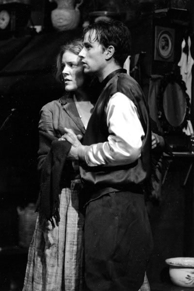 Robert Moloney With Rachell Elie In The Playboy Of The Western World (Studio 58)