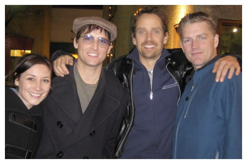 Sarah Manninen, Peter Facinelli, Robert Moloney, And Peter Winther (TTOW, A&E)
