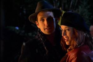 Robert Moloney With Kristen Dalton In Christmas On Chestnut Street (Lifetime)